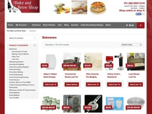 bake and brew website design adelaide