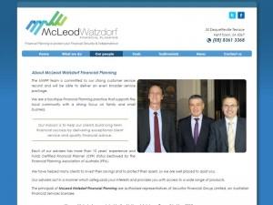 website design adelaide mcleod watzdorf