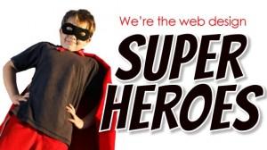 website design adelaide superheroes